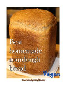 Best Vegan Sourdough Bread