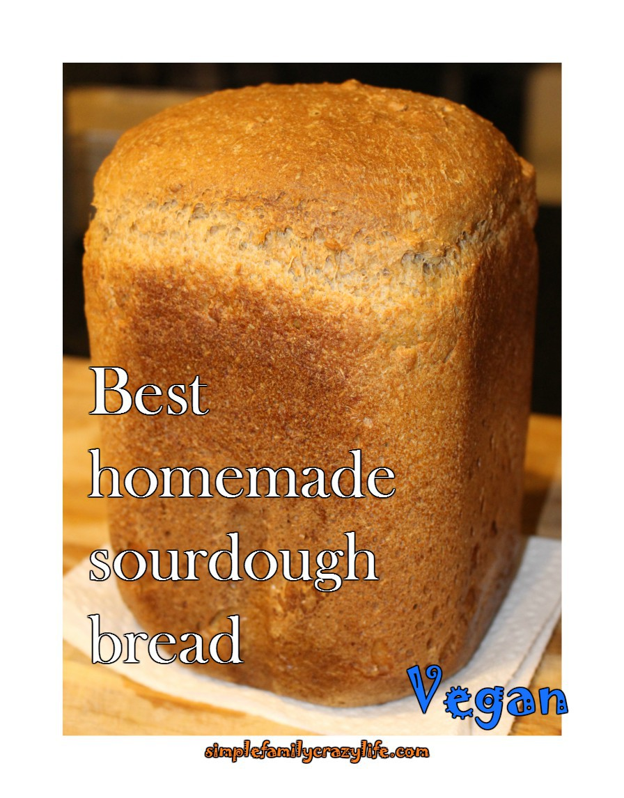 vegan sourdough bread
