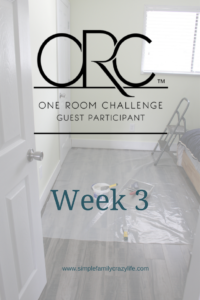 one room challenge master bedroom week 3