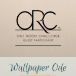 One Room Challenge – Wallpaper Ode