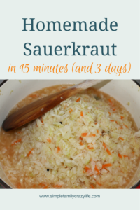 Sauerkraut – Best When Home-made