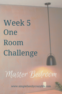 week 5 one room challenge