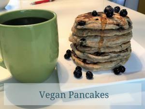 Vegan Pancakes – Nice and Easy