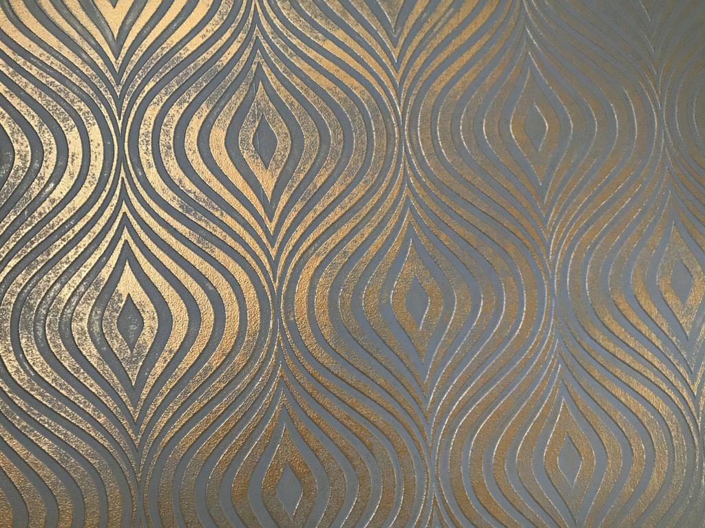 gold gray textured wallpaper