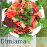 stewed vegetables vegan dimlama