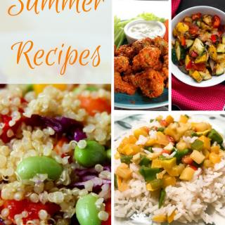 Easy summer recipes vegan
