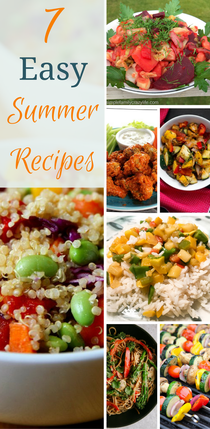 Easy summer recipes vegan