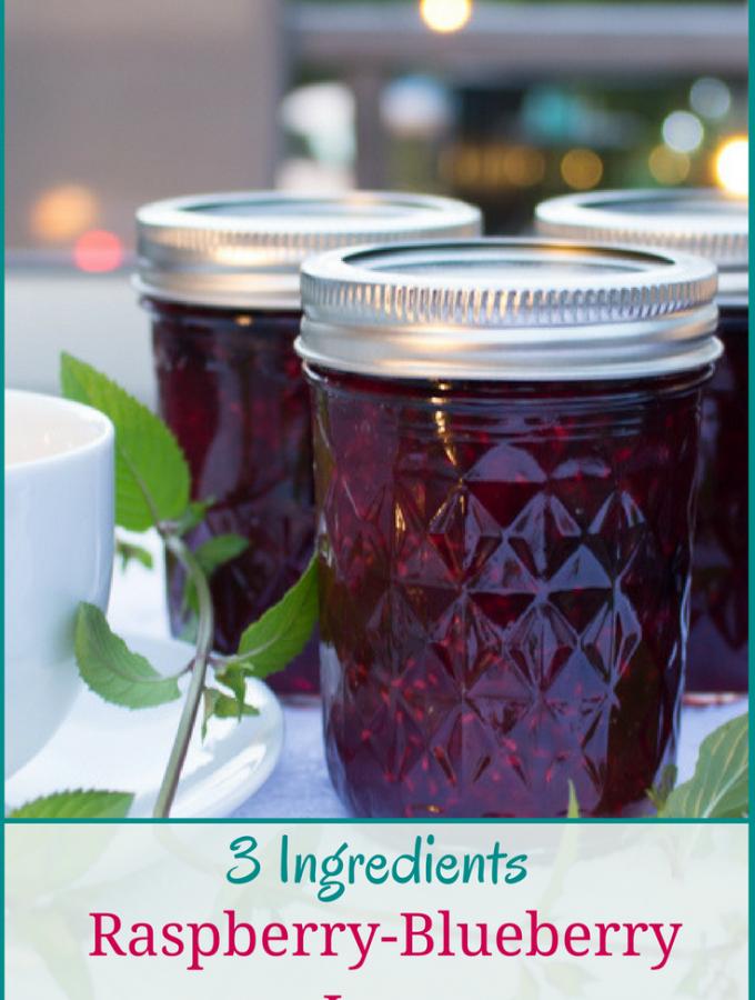 Raspberry-blueberry Jam Homemade