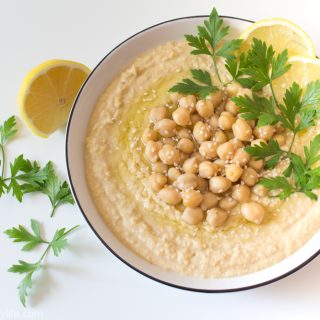 Vegan Homemade Hummus