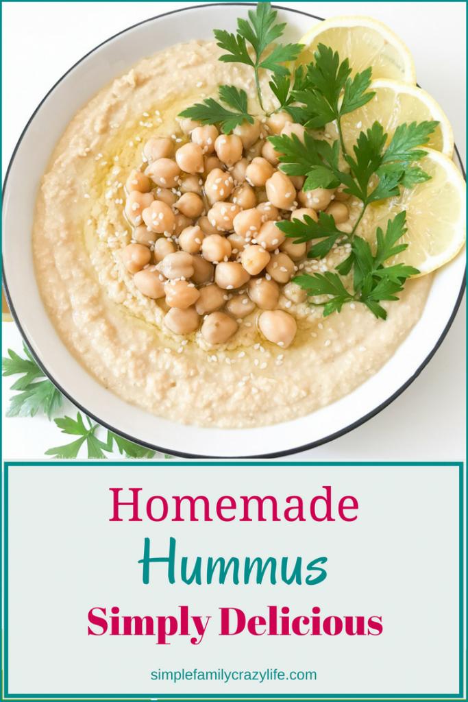 Vegan Homemade Hummus