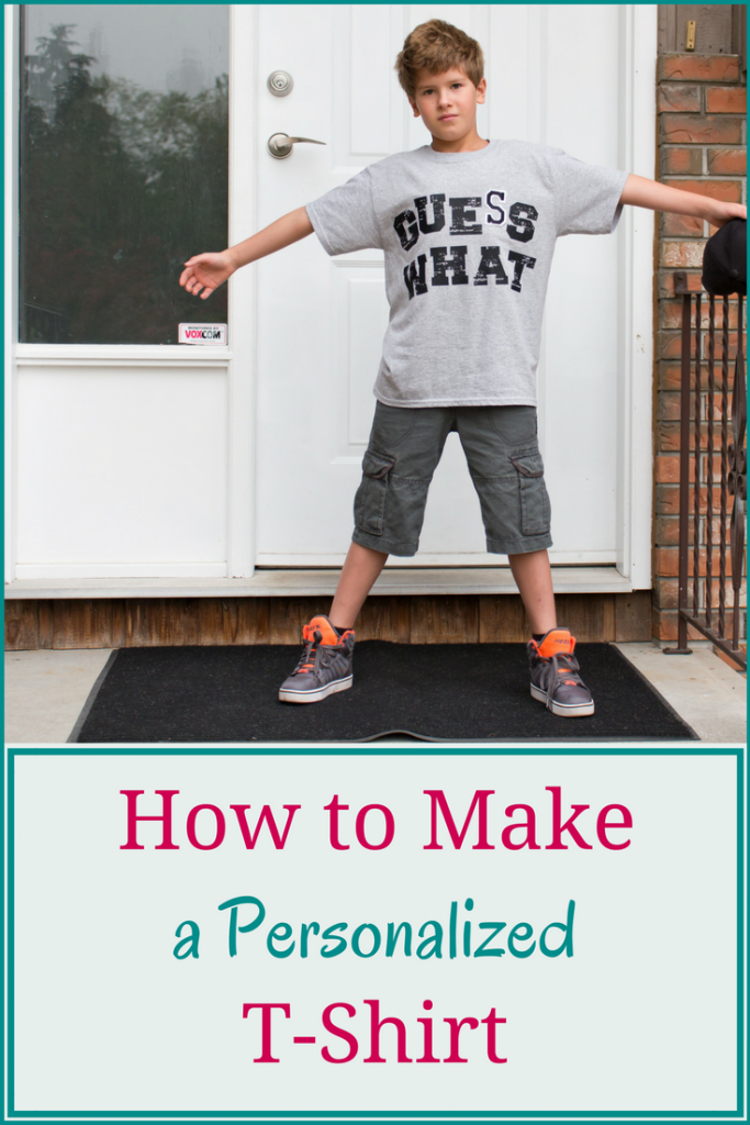How to make a personalized T-shirt