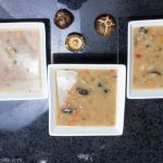 Creamy mushroom and wild rice soup - Gluten-free, no MSG, and vegan