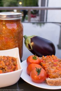 Delicious Vegan Eggplant Relish – Canning Recipe