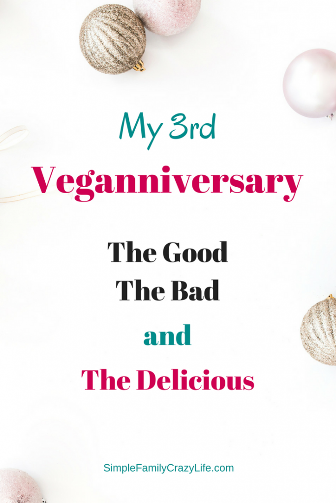 Celebrating my 3rd veganniversary