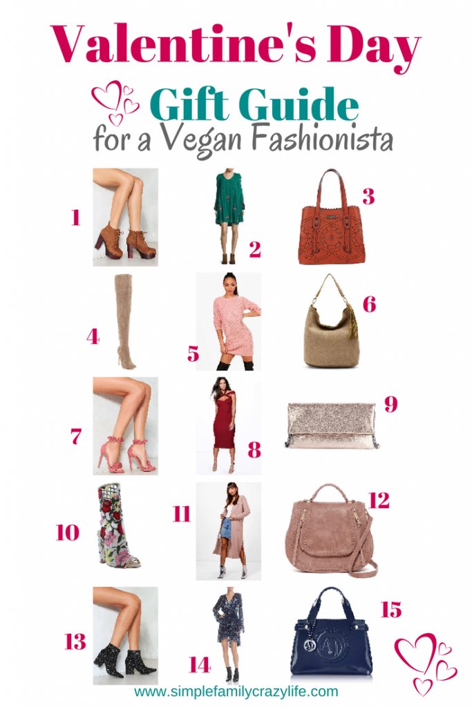 Ultimate Valentine's Day gift guide for a vegan Fashionista - affordable chic