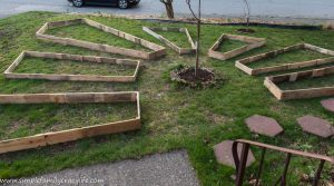 How to Build Irregular Shape Raised Garden Beds – Week 3 of the YTC