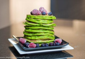 Perfect Vegan Spinach Pancakes