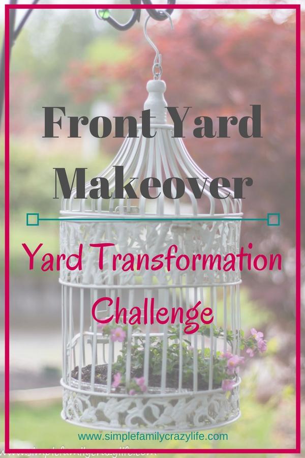 Yard Transformation Challenge - 6-week bloggers event garden makeover - front yard transformation