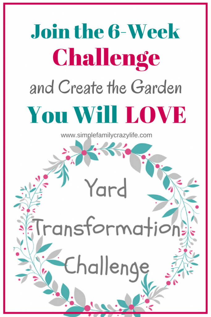 Create your beautiful outdoor space. Join the 6-week Yard Transformation Challenge!