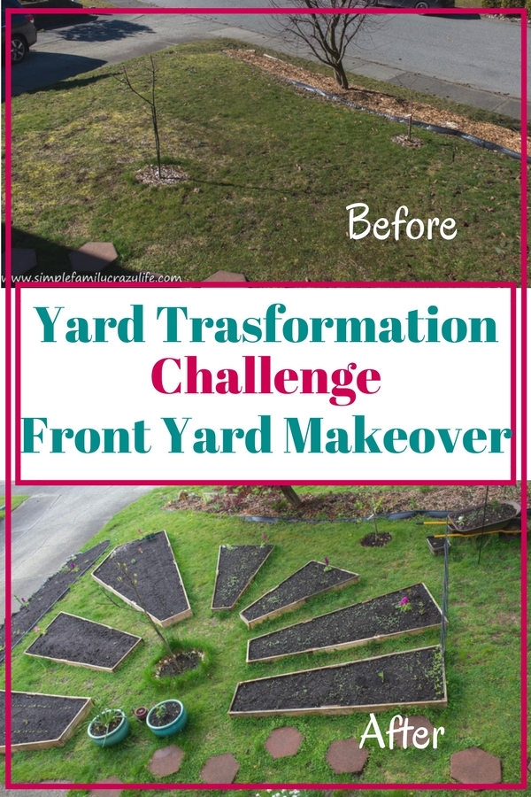 Yard Transformation Challenge bloggers event - front yard makeover