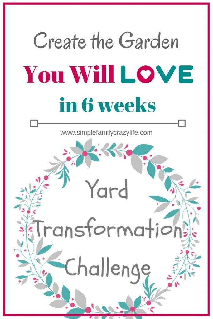Yard Transformation Challenge - blogging event on garden transformation