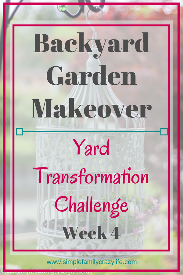 Backyard makeover - Yard Transformation Challenge Spring 2018 - Week 4 - building a long garden raised bed