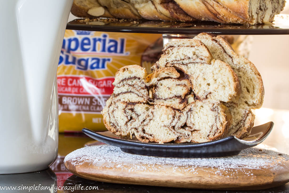Vegan Chocolate Twists - yeast dough. #Choctoberfest all things chocolate giveaway