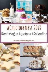 #Choctoberfest 2018 best veganrecipes