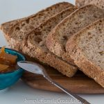 Vegan Whole Wheat Sourdough Bread – No Breadmaker Needed