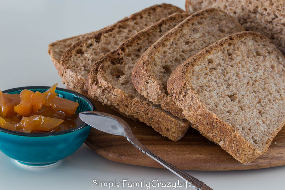 Vegan whole wheat sourdough bread recipe